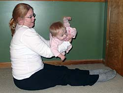 Biceps Curl with baby