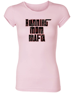 Running Mom Mafia Bamboo Crew Neck Tee