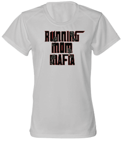 Running Mom Mafia Dry Core Tee