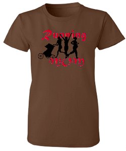 Running Mom Misses Relaxed Anvil Organic Tee