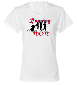 Running Mom Dry Core Tee
