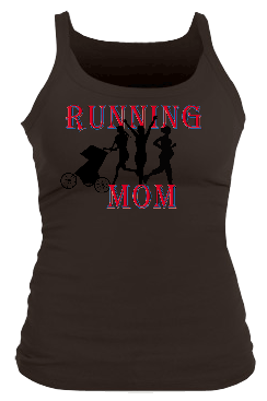 Running MomII Junior Bella Longer Length Rib Tank