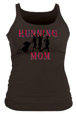 Running MomII Junior Bella Longer Length Rib Tank