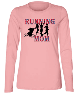 Running MomII Misses Relaxed Fit Bella Long Sleve