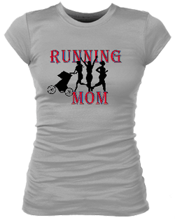 Running MomII Junior Bella Rib Tee