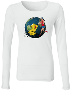Running World Bamboo Long Sleeve