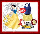 Snow White Running Costume