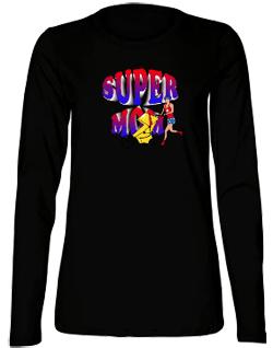 SuperMom Bella Long Sleeve Tee