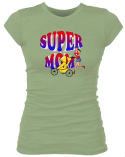 Super Mom Junior Bella Rib Tee