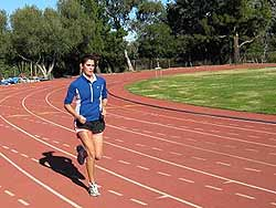 interval training, increase running speed