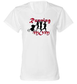 Running Mom Dry Core Tee