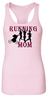 Running Mom II Bamboo Racerback