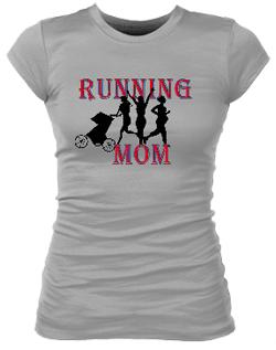 Running MomII Junior Bella Rib Tee