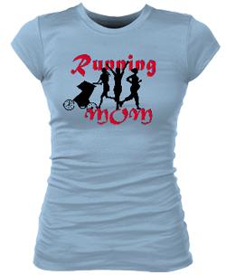 Running Mom Junior Bella Rib Tee