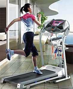 Treadmill Interval Training
